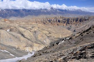 Photo: Entre le Khampa Camp et le Tiu La supérieur