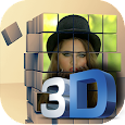 3D effect Photo Editor-3D 2D 1D and couple frames