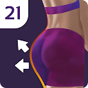 Buttocks & Legs Workout Home icon