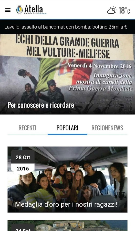 Atella ComuneNews- screenshot