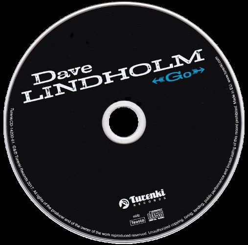 CD - Dave Lindholm: Go