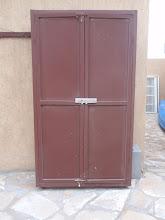 Photo: Outside storage cabinet