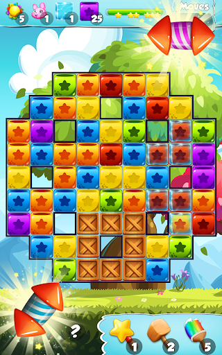 Toys Cubes Blast: Collapse Logic Puzzles Block Pop for PC