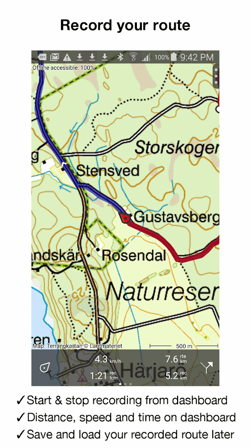 Topo GPS Sweden Android Apps On Google Play - Sweden map distance