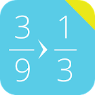 Simplify Fractions Calculator icon