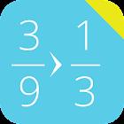 简化分数 icon