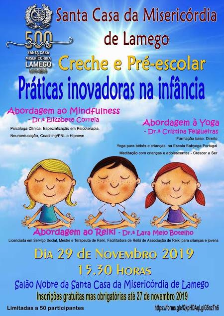 """Misericórdia de Lamego promove seminário sobre """"Práticas Inovadoras na Infância"""""""
