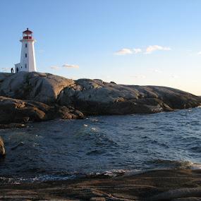 Peggy's Cove, Nova Scotia by Caroline Gerlt - Landscapes Beaches