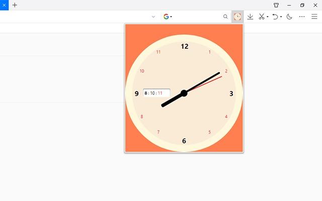 CSS3 disc clock