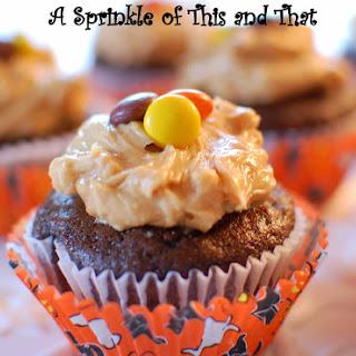 Chocolate Banana Cupcakes with Peanut Butter Frosting and a Ghost Story!