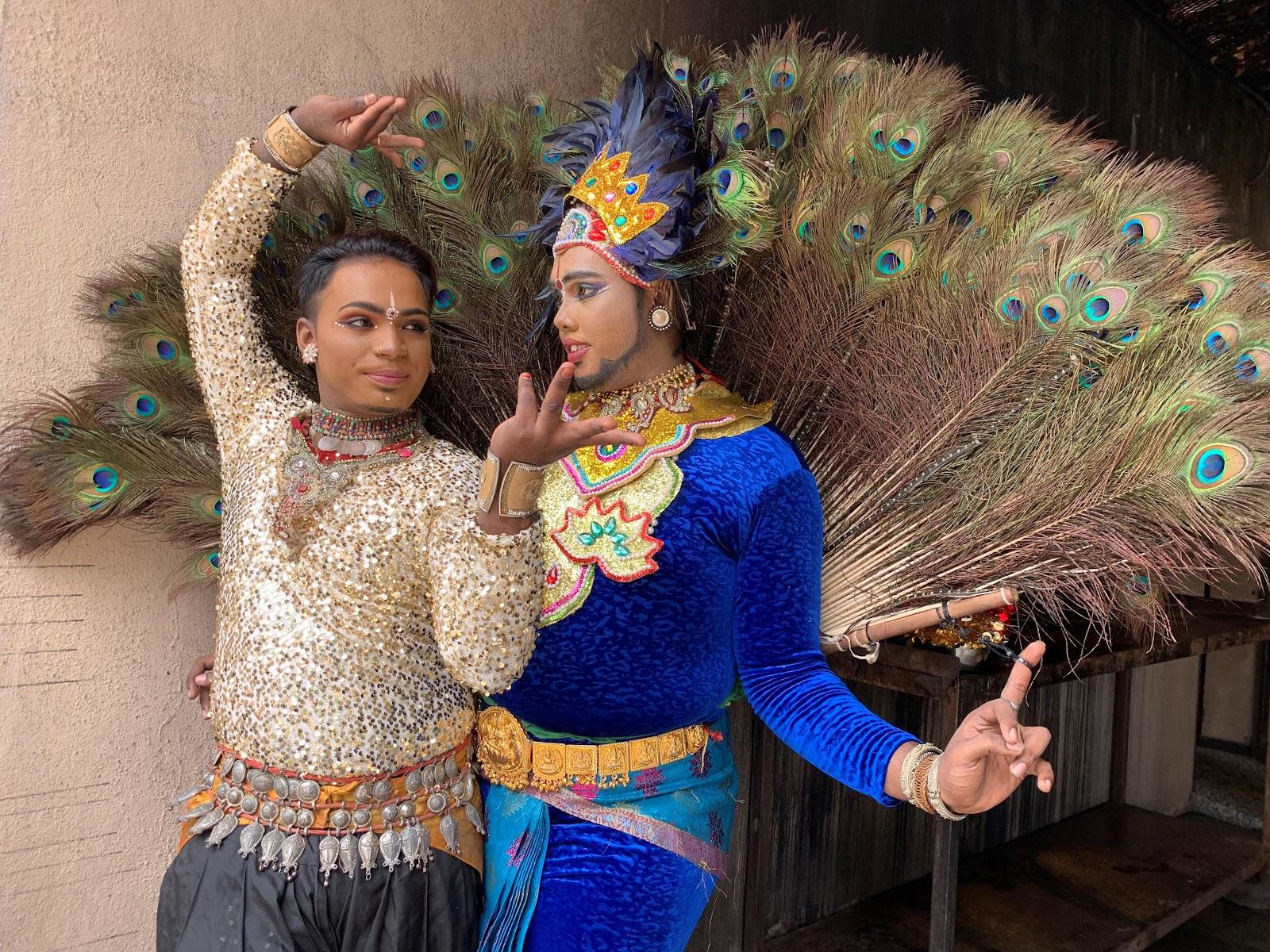 【マレーシア伝統芸能】 インド系 3つのダンス