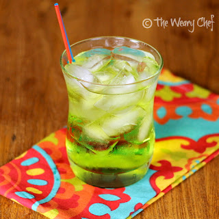 A Fun Midori Cocktail with Coconut Rum Recipe