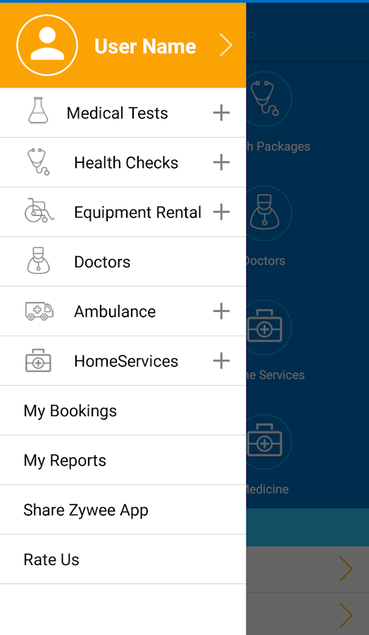 Zywee -One stop health app- screenshot