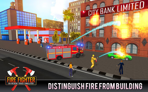 Firefighter Truck 911 Rescue: Emergency Driving 1.0.3 de.gamequotes.net 1