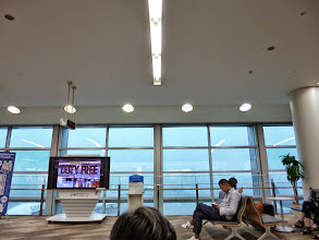"""Photo: Fukuoka Airport on a heavily rainy day in July. We call it """"cloud burst,"""" causing flood-like submerged condition on the road in front of our home within a few hours. Much needed such rain in Pune. 11th July updated (日本語はこちら) -http://jp.asksiddhi.in/daily_detail.php?id=601"""