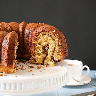 Nutella Swirl Coffee Cake