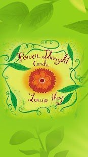Power Thought Cards - Louise Hay Screenshot