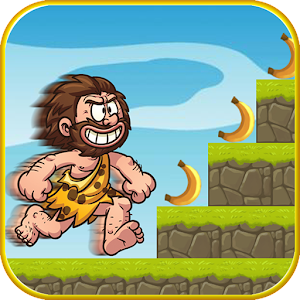 Caveman Run Story Dash Banana for PC and MAC