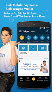 Oxigen Bill Payment & Recharge,Wallet 1