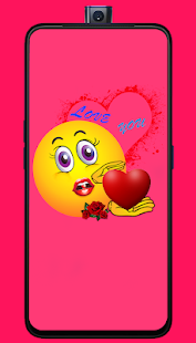 Download romantic love emoji quotes For PC Windows and Mac apk screenshot 5
