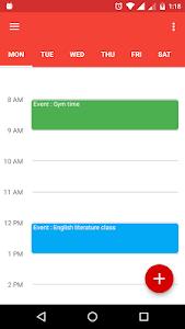 TimeStar Timetable/Scheduler screenshot 0