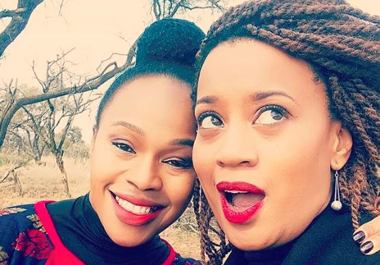Actresses Sindi Dlathu and Renate Stuurman play two very powerful women in The River.