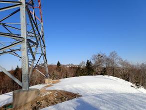 鉄塔から先を望む