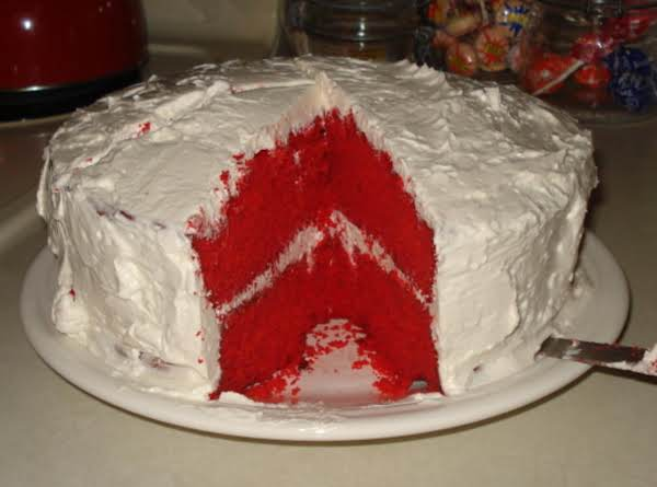 Auntie's Red Velvet Cake! Recipe