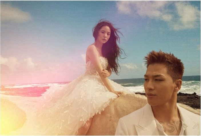 Taeyang_MinHyoRin_WeddingShoot