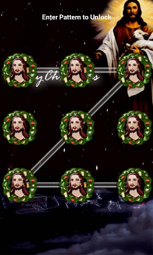 Jesus Pattern Lock Screen