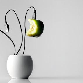future plant by Erick Gracia - Digital Art Things