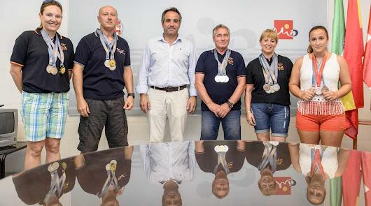 Club Los Troncos ofrece a Almería las 6 medallas