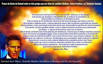 """Photo: Alertamos aos nossos leitores, inclusive aos médiuns ( que estão sendo enganados pelas entidades negras do abismo ), que a mediunidade trás como consequência kármica a epilepsia, na próxima existência. As entidades negras do abismo, que geralmente vem trajadas de """"guias"""" , """"espíritos"""" , """"mestres ascencionados"""", """"extraterrestres"""" , """"anjos"""" e até de """"Jesus Cristo"""" e """"Deus"""", usam os médiuns para ditar-lhes mensagens distorcidas e irreais que vai sutilmente contra a realidade Divina, contra a VERDADE-CRISTO.  Normalmente, se apresentam como """"iluminados"""", """"bons samaritanos"""" e """"santos"""" e até realizam fenômenos, curas e fazem caridades para fazer crer o enganado de que suas mensagens são reais e verdadeiras, todavia a crua realidade é que são LOBOS VESTIDOS COM PELE DE OVELHA, inventando ESTORIAS que nada tem a ver com a VERDADE sobre o Karma, sobre a Reencarnação, sobre a ALMA, sobre as leis de Deus, sobre a vida celestial, sobre os anjos, os extraterrestres, o resgate, etc. etc.  A mediunidade é desenvolvimento psíquico invertido, anti-natural e negativo e isto é tão notório que quando a pessoa incorpora uma entidade, sai de seu estado psicológico normal devido a uma interferência psíquica que agora assalta-lhe o corpo para expressar ou usa o braço para escrever, etc.  O desenvolvimento mediúnico é exatamente o INVERSO e o CONTRÁRIO do desenvolvimento gnóstico. No desenvolvimento mediúnico a pessoa põe-se em contato com a entidade desencarnada e que exerce controle parcial ou não das funções físicas e intelectuais do médium, durante o transe mediúnico.  No desenvolvimento gnóstico a alma põe-se em contato somente com o seu SER, com seu ÍNTIMO, que é parte de seu DEUS INTERNO. É preciso entender que ESPÍRITO é DEUS, não tem nada a ver com pessoas que desencarnaram e que erroneamente são denominadas de 'Espíritos'. A Gnose nos ensina que o homem é um trio de CORPO, ALMA E ESPÍRITO. O Espírito é DEUS, é o ÍNTIMO, o CRISTO INTERNO e que, portanto, não é a alma desenca"""