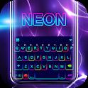 Color Neon Tech Keyboard Theme icon