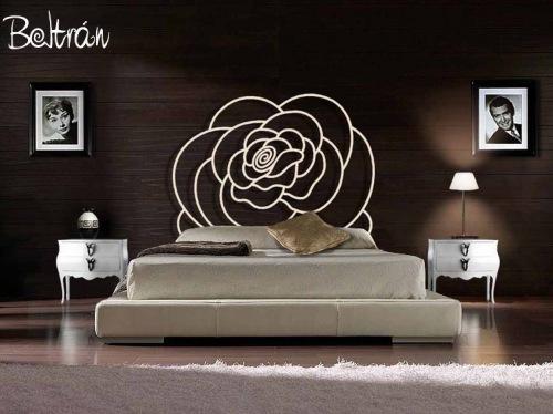 """Photo: Me gustaria compartir con vosotr@, como el titulo del album indica """" mis dormitorios preferidos """" que bien por su diseño innovador, composicion decorativa o cualquier otro motivo me han llamado la atencion de una forma especial. Si os gustan, podeis ver los detalles del domitorio en la web corporativa de Decoracion Beltran, dedicada a la innovacion y el diseño en forja. Espero que os guste :-) http://www.galeriaarteenforja.com"""