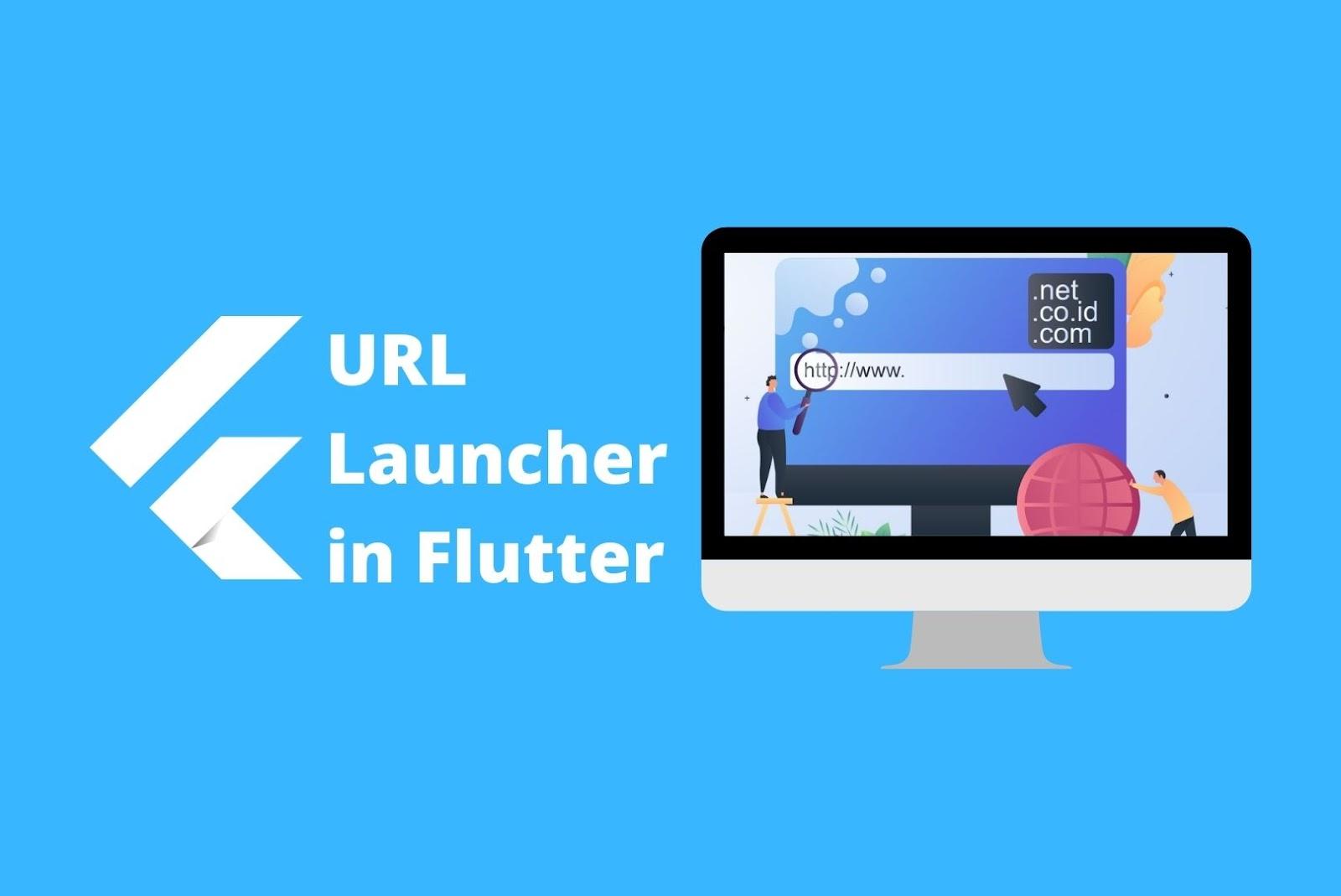 URL Launcher Flutter UI Libraries