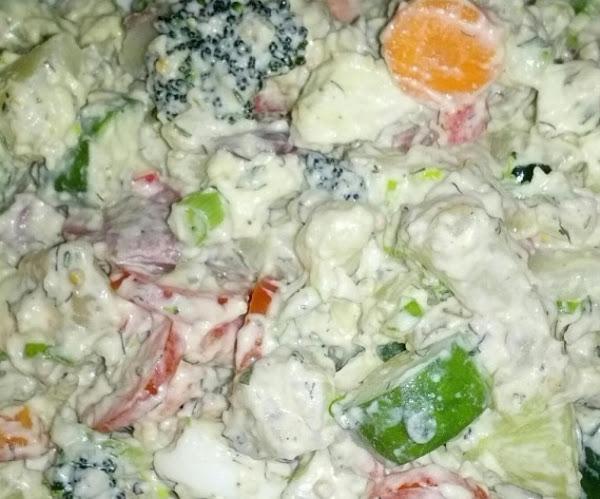 Garden Dill Potato Salad Recipe