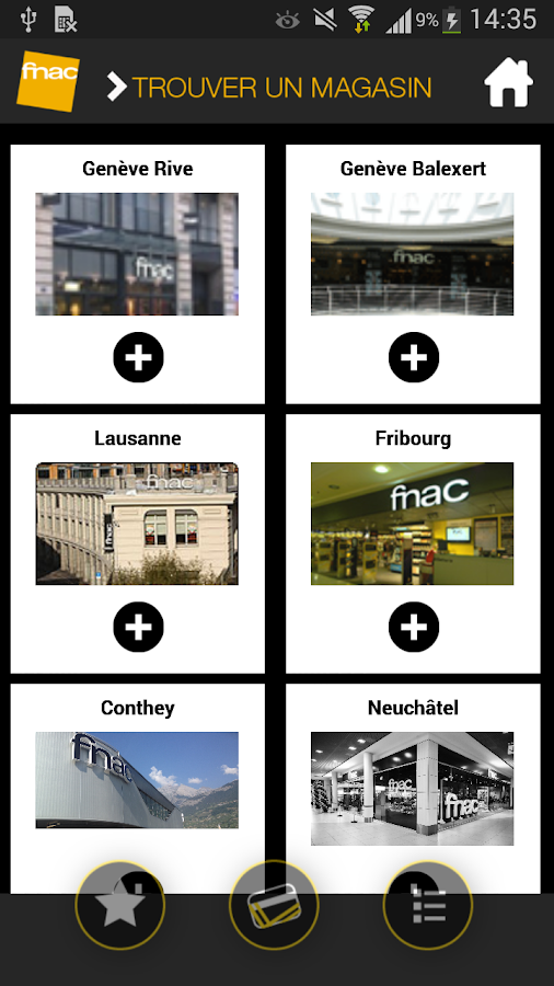 carte fnac suisse applications android sur google play. Black Bedroom Furniture Sets. Home Design Ideas