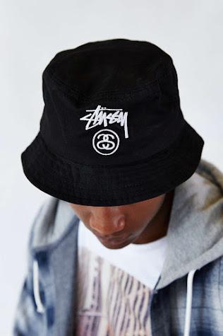 Stussy 爆紅款 Stussy Stock Lock Bucket Hat漁夫帽_黑色( L/XL) by YuYu Shops【Yu Wish】 | Go1Buy1