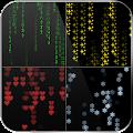 Matrix Live Wallpaper Digital Code Rain Emoji LWP APK
