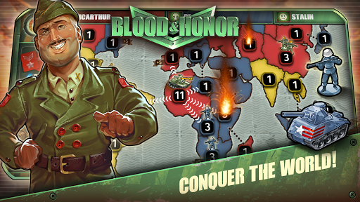 Blood & Honor: War, Strategy & Risk apkpoly screenshots 8