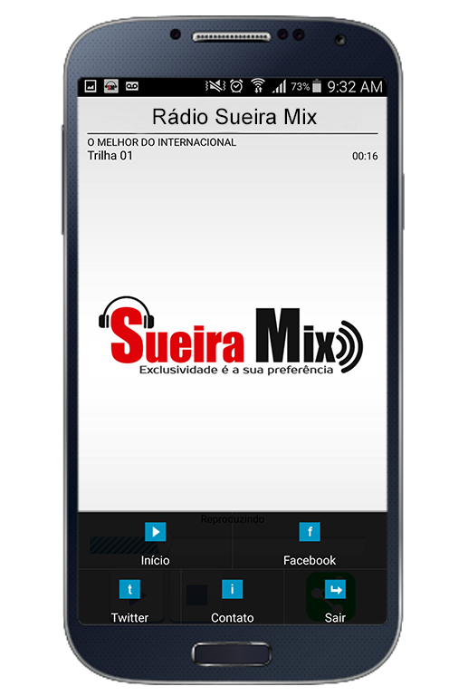 Rádio Sueira Mix- screenshot