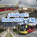 ¿Cuál es?: Rutas SITP y TM