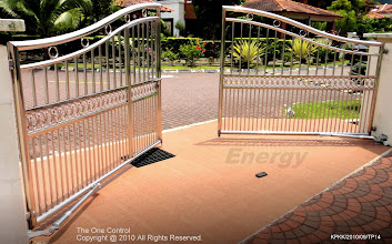Photo: Swing Type ( Stainless Steel Gate )