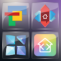 3K SQR Glass - Icon Pack icon