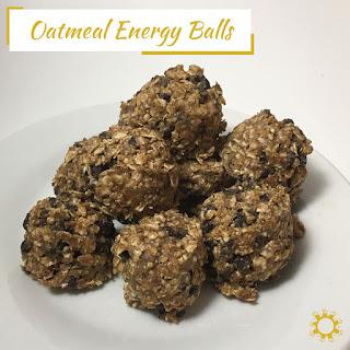 Oatmeal Energy Balls Recipe
