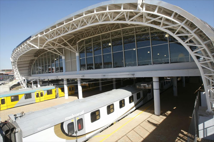 Metrorail trains. Passenger trains in Cape Town were delayed by a power outage at the Metrorail control centre on Thursday morning. File picture