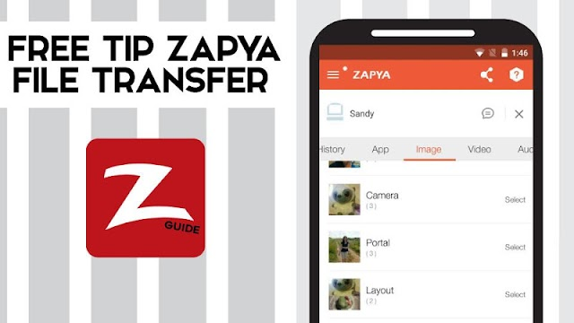 Free Tip Zapya File Transfer - screenshot