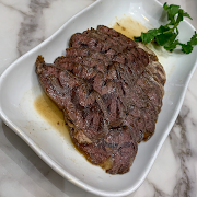 72a. Cold Sliced Marinated Braised Beef