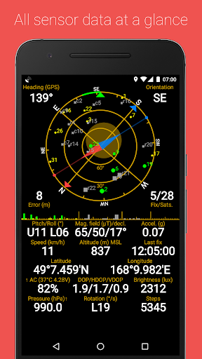 GPS Status & Toolbox screenshot 1
